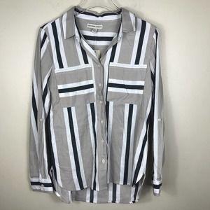 Alexander Jordan Stripe Button Down Shirt